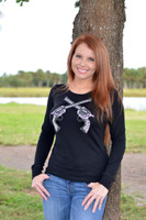 Thermal LongSleeve with Blinged Guns