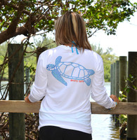 Sea Turtle quick dry sun shirt