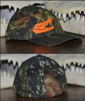 Gator Head Camo Men's Hat