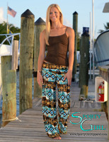 Palazzo Nautical Tribal Pants