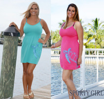 One Size Fits Some With Straps Seaturtle Nautical Dress