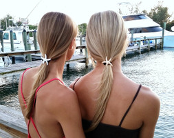 Starfish hair ties