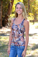 Onesize Fits some Sporty Girl camo tank top