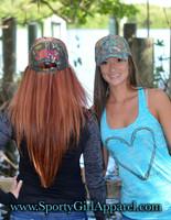 Camo Heart Hook Fishing Hats
