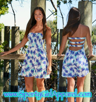 Palm Tree beach dress