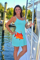 AQUA ONESIZE fits some hogfish with Straps dress