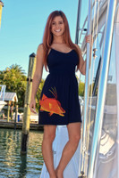 NAVY ONESIZE fits some hogfish with Straps dress