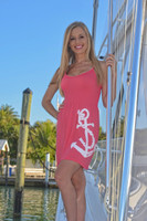 Coral anchor ONESIZE fits some dress with Straps dress
