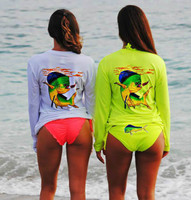 Dolphin Long Sleeve Fishing Sunshirts
