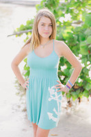 MINT anchor ONESIZE fits some dress with Straps dress