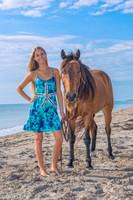 Tie Dye Starfish Beach Dress