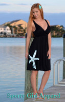 Fancy BLACK STARFISH  dress