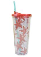 Starfish Straw Tumbler