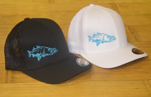 teal SNOOK Black or White mesh back fitted onesize hat