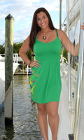 Green Mahi Mahi fishing  onesize with straps dress
