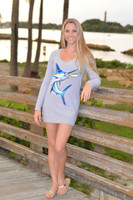 Gray Marlin Sweater Dress