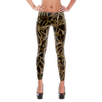 Black Antler leggings  Full Length or Capri