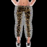 Black Antler leggings  Full Length or Capri