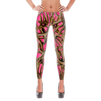 Pink Antler leggings