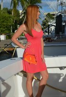 Coral hogfish onesize with straps dress
