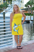 Yellow MARLIN Onesize Longer Length Fishing Dress