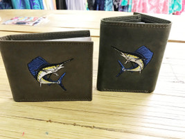 Sailfish leather Wallet