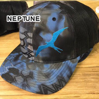 Frigate krypetk camo fishing hats