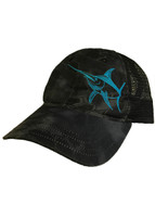 Pinstripe flex fit hogfish hat