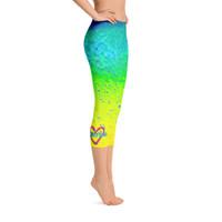 Sporty Girl Mahi Skin Capri Leggings