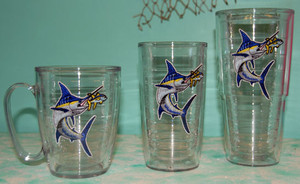 16 OZ Marlin and Tuna Tervis Tumblers
