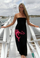 Pink Sailfish Fishing Ladies Dress