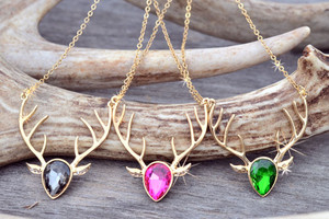Buck Head Hunting Necklace