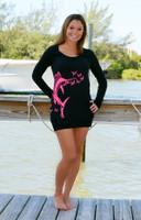 PINK Sailfish sweater dress