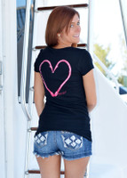 Heart Hook Fishing  Shirt