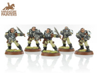 BRONZE Space Marine Scouts