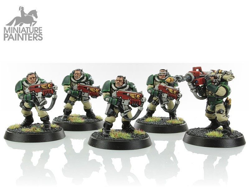 SILVER Space Marine Scouts