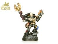 GOLD Chaplain with Skull Helmet