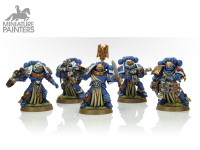 SILVER Sternguard Veteran Squad
