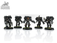 SPACE MARINE VANGUARD VETERAN SQUAD