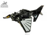 SILVER Nephilim Jetfighter