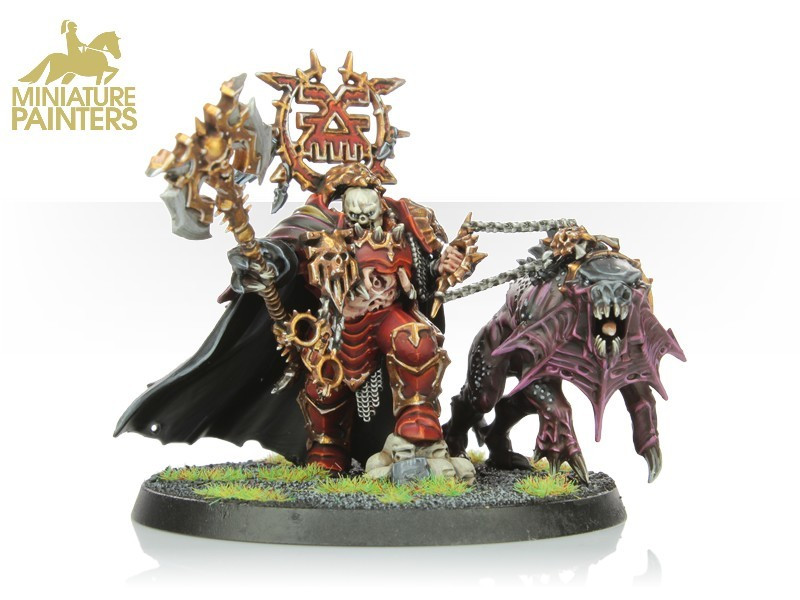GOLD Converted Mighty Lord of Khorne