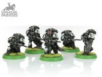 SILVER Mor Deythan Strike Squad