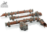 SILVER Promethium Relay Pipes