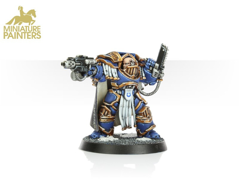 GOLD Captain in Terminator Armour