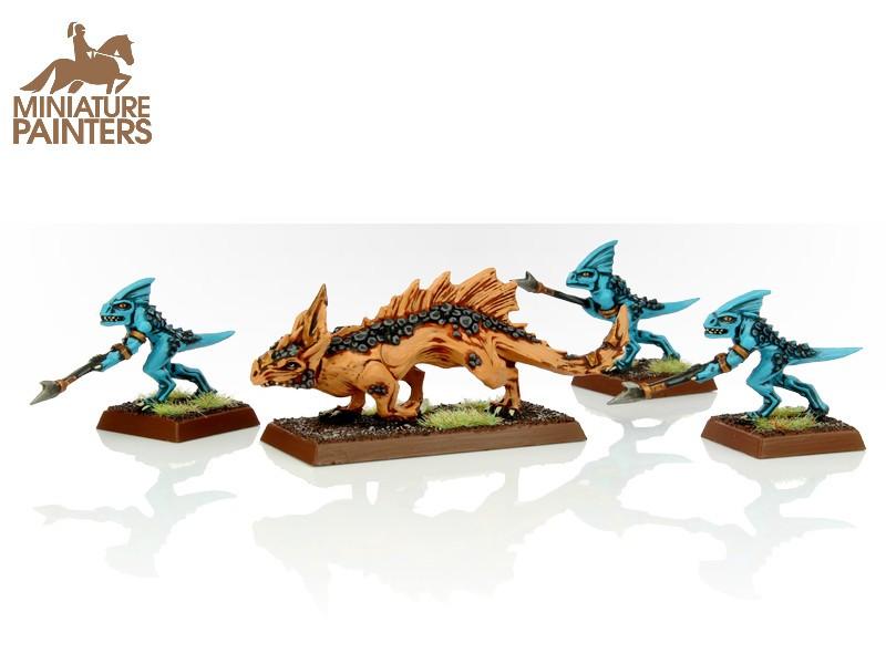 Seraphon Salamander Hunting Pack Miniature Painters