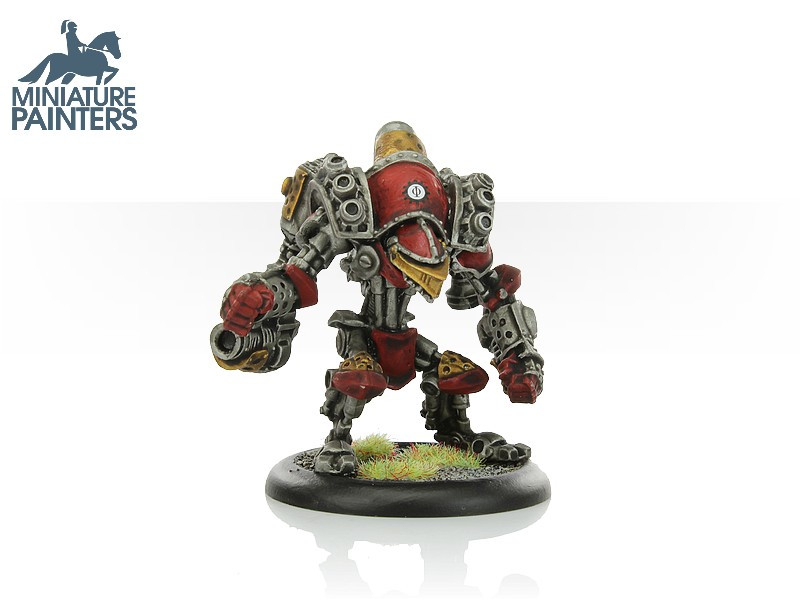 LEAD Cygnar Minuteman Light Warjack