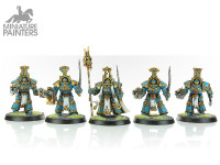 SILVER Scarab Occult Terminators