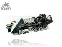 SILVER Scimitar Jetbike