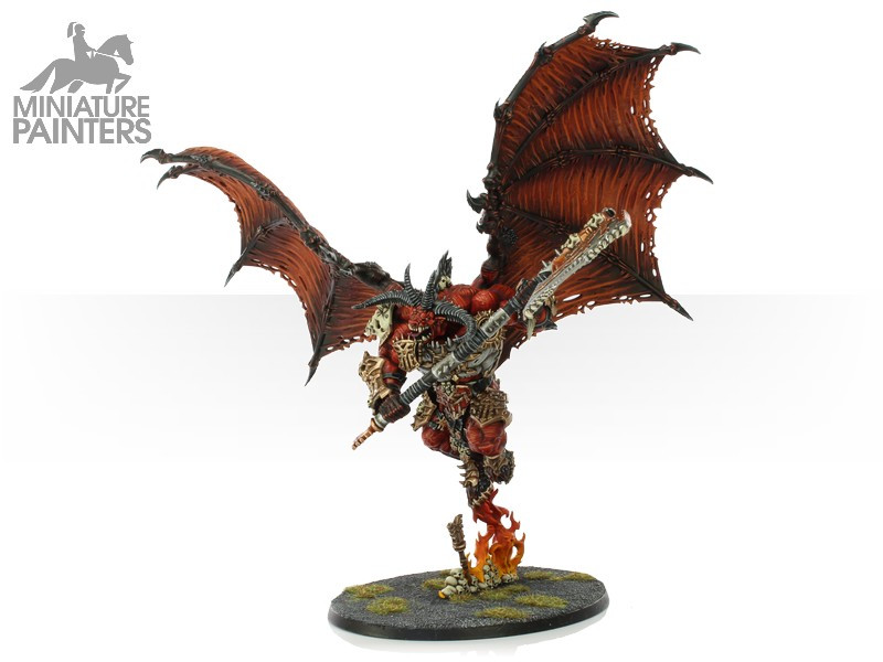 SILVER Daemons of Chaos Khorne Bloodthirster