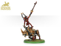 GOLD Herald of Khorne on Juggernaut